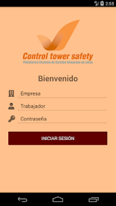 screenshot of Control Tower Safety version 1.0
