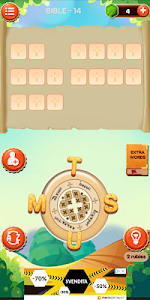 screenshot of Coptic Word Game version 10