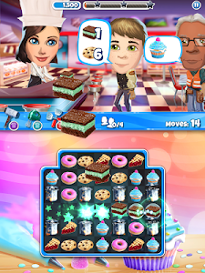screenshot of Crazy Kitchen: Match 3 Puzzles version Varies with device