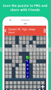 screenshot of Crossword Daily: Word Puzzle version 1.2.8