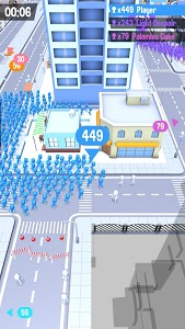 screenshot of Crowd City version 1.2.18