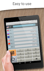 screenshot of Currency Converter Plus Free with AccuRate™ version 1.9.0