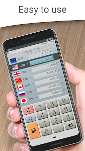 screenshot of Currency Converter Plus Free with AccuRate™ version 2.2.4