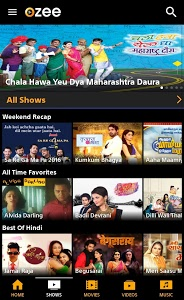 screenshot of OZEE - Entertainment Now version 11.1.8