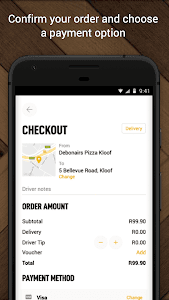 screenshot of Debonairs Pizza version 2.1.141