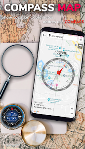 screenshot of Digital Compass for Android version 2.6.8