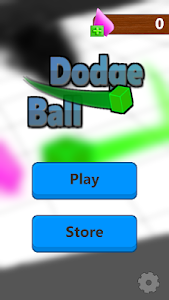 screenshot of Dodge Ball version 2.3.1