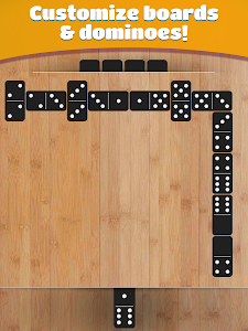 screenshot of Dominoes version 1.14.1