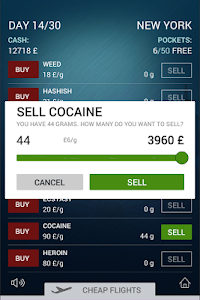 screenshot of Dope, Inc. - A simple and free drug dealing game version Production