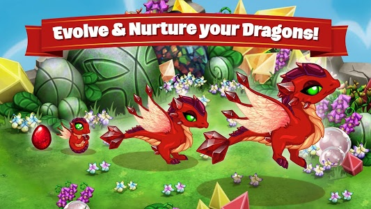 screenshot of DragonVale version 4.16.1