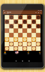 screenshot of Checkers - strategy board game version 1.63.1