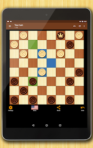 screenshot of Checkers - strategy board game version 1.64.1