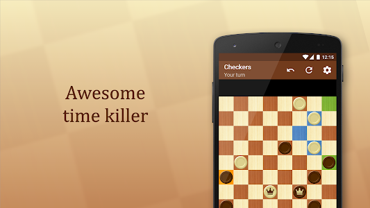 screenshot of Checkers version 1.42.4