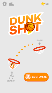 screenshot of Dunk Shot version 1.4.2