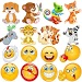 ?Emoji emoticons for whatsapp WAStickerApps