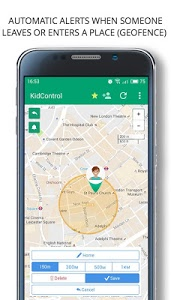 screenshot of Family GPS tracker Kid Control version 3.4.7