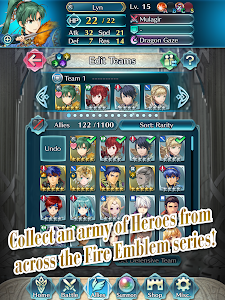 screenshot of Fire Emblem Heroes version 4.5.0