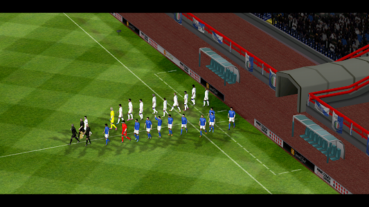 screenshot of First Touch Soccer 2015 version 2.09