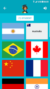 screenshot of Flags and Capitals of the World Quiz version 1.7.86