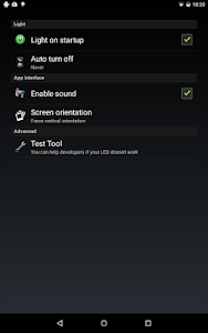 screenshot of Flashlight HD LED version 1.93.11 (Google Play)