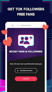 screenshot of Followers For TikTok - Get Fan, Follow and Like version 1.0