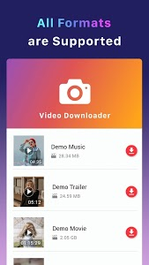 screenshot of Free Downloader for Video version 8