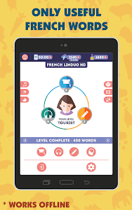 screenshot of French for Beginners: LinDuo HD version 5.11.1