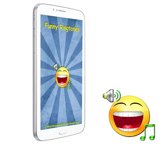 screenshot of Funny Ringtones version 1.3