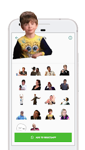 screenshot of Funny Memes WAStickers - Stickers for WA version 1.2