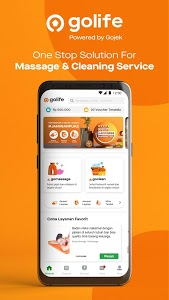 screenshot of GoLife | Professional Massage & Cleaning Service version 3.33.0