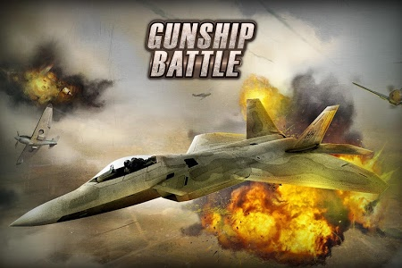 screenshot of GUNSHIP BATTLE: Helicopter 3D version 2.7.27