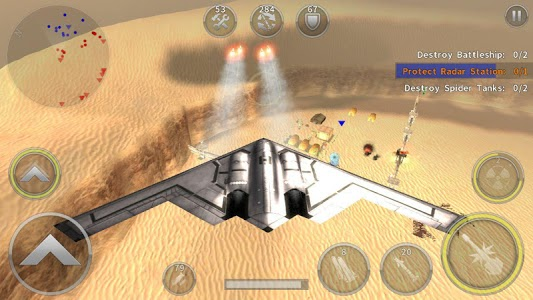 screenshot of GUNSHIP BATTLE: Helicopter 3D version Varies with device