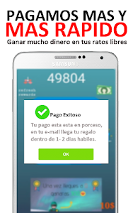 screenshot of Ganar Dinero y Gift Cards Gratis - Free Fast Money version 4.7