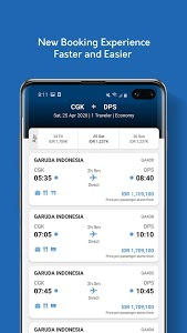 screenshot of Garuda Indonesia Mobile version 5.1.0