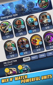 screenshot of Gears POP! version 1.23