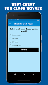 screenshot of Gems for Clash Royale FREE version 5.0