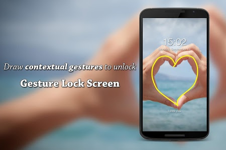 screenshot of Gesture Lock Screen version 3.5.2
