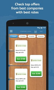 screenshot of Payday loan comparison version 1.0.5