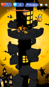 screenshot of Ghost Jump - Helix Halloween version 1.1