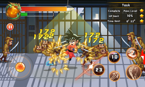 screenshot of Goku Legend: Super Saiyan Fighting version 1.0.9.110