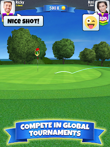 screenshot of Golf Clash version 2.31.0