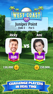 screenshot of Golf Clash version 122.0.6.230.0