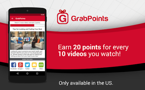 screenshot of GrabPoints - Free Gift Cards version 1.9