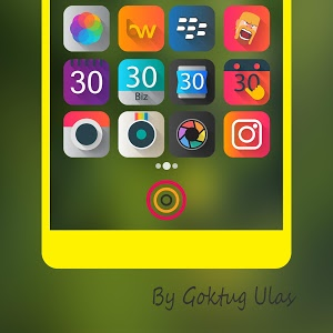 screenshot of Graby - Icon Pack version 2.4