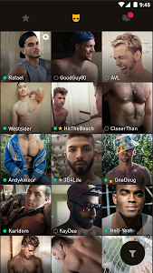 screenshot of Grindr - Gay chat, meet & date version 3.0.9