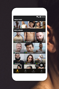 screenshot of Grindr - Gay chat version Varies with device