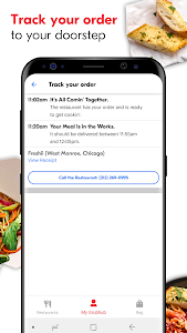 screenshot of Grubhub: Local Food Delivery & Restaurant Takeout version 7.41