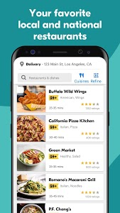 screenshot of Grubhub: Local Food Delivery & Restaurant Takeout version 7.89
