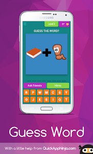 screenshot of Guess Pictures Word version 4.2.0zg