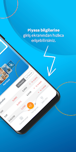 screenshot of Halkbank Mobil version 2.5.0.1